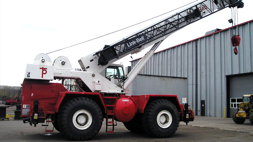 1680 Link Belt RTC-8050 50 ton rough terrain crane