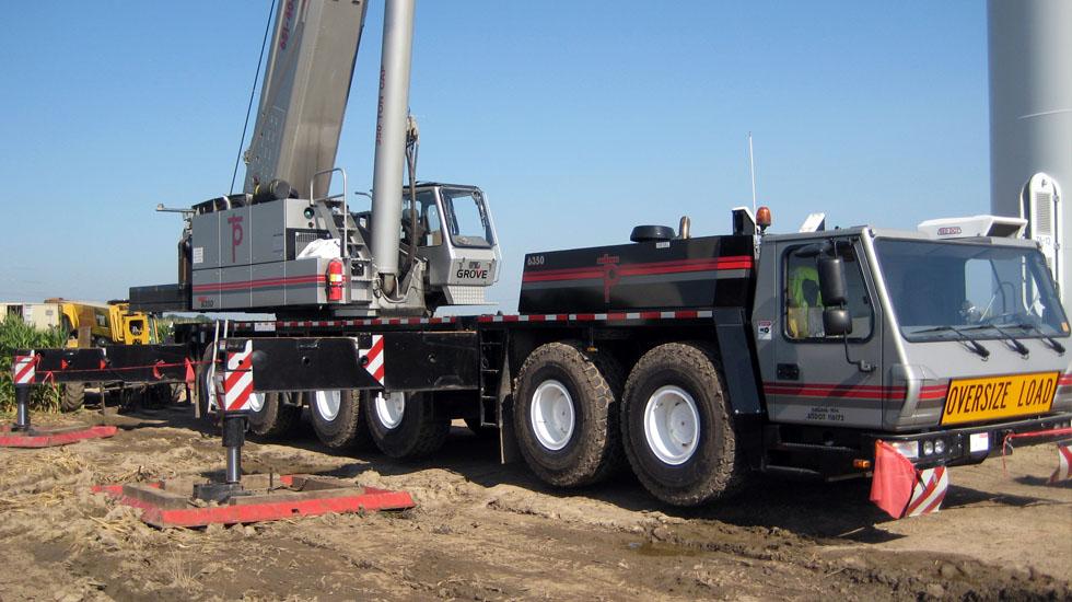 2008 Grove Model 9310 Model GMK6350B