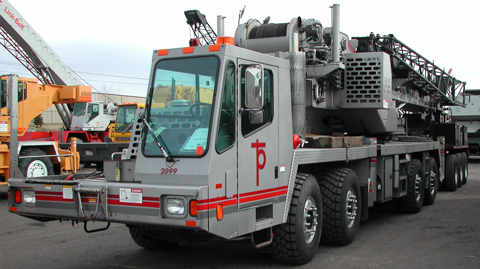 2099 Grove ATS 870-b 70 ton all terrain crane2