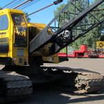 American 5299 50 ton crawler crane